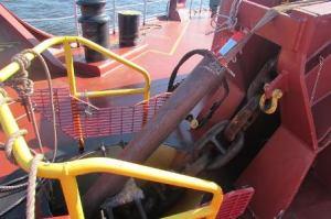 anchor stuck
